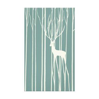 Fantasma de los ciervos impresiones en lienzo estiradas
