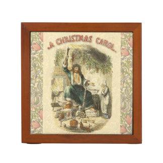 Fantasma de Scrooge del Victorian del regalo de Organizador De Escritorio