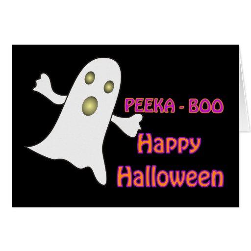 Fantasma del abucheo de Peeka - tarjeta
