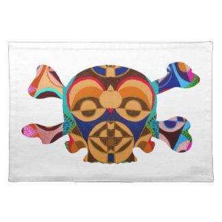 Fantasma del cráneo n: Mascota del africano de Nov Mantel
