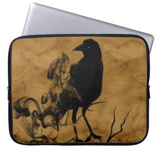 Fantasma del cuervo funda portátil
