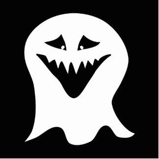Fantasma del espíritu necrófago Blanco y negro Esculturas Fotográficas