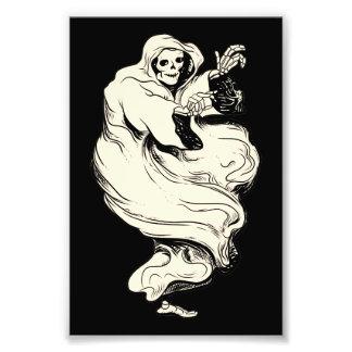 Fantasma del esqueleto del vintage cojinete