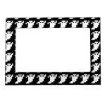 Fantasma del pixel de 8 pedazos foto de imanes