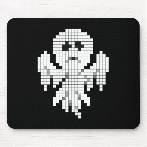 Fantasma del pixel tapetes de ratón