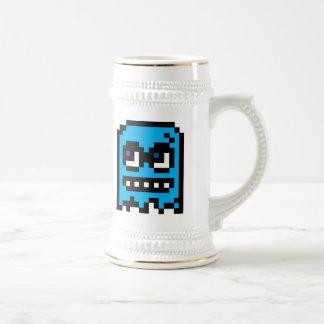 Fantasma del pixel taza de café