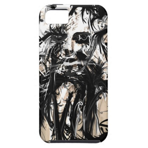Fantasma del rock-and-roll iPhone 5 carcasa