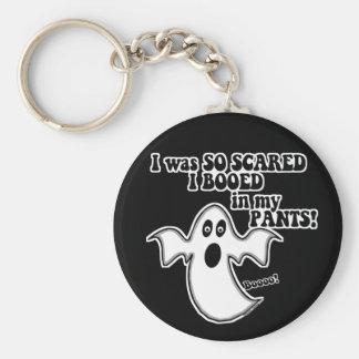 Fantasma divertido de Halloween Llaveros Personalizados