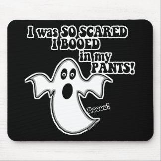 Fantasma divertido de Halloween Alfombrillas De Raton