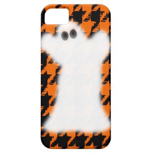Fantasma el Halloween Houndstooth iPhone 5 Fundas