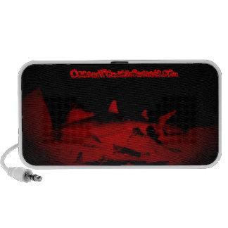 Fantasma en la noche iPod altavoces