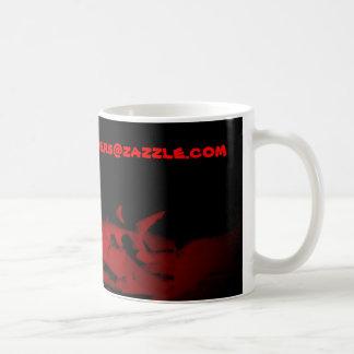 Fantasma en la noche taza de café