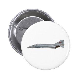 Fantasma F-4 Pin Redondo De 2 Pulgadas