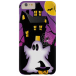 Fantasma fantasmagórico de Halloween Funda De iPhone 6 Plus Barely There