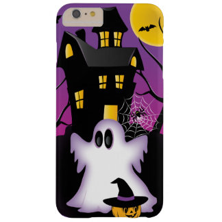 Fantasma fantasmagórico de Halloween Funda De iPhone 6 Plus Barely There