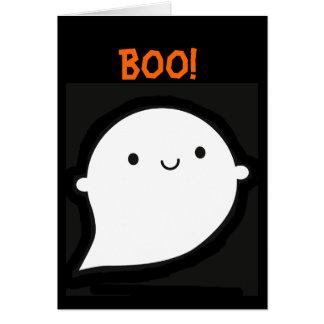 Fantasma fantasmagórico de Wooky Halloween Tarjeta De Felicitación
