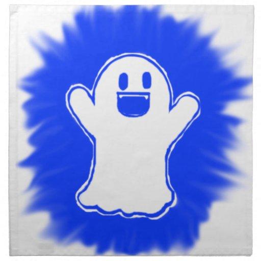 Fantasma feliz servilletas