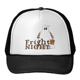 Fantasma Halloween de la noche del susto Gorra