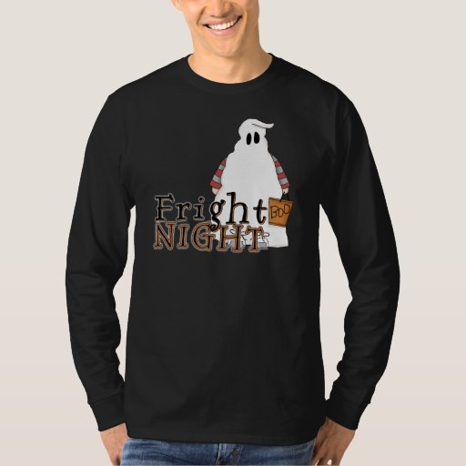 Fantasma Halloween de la noche del susto Playera