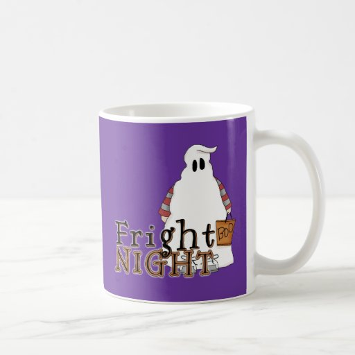 Fantasma Halloween de la noche del susto Taza