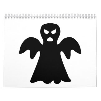 Fantasma Halloween del horror Calendarios De Pared