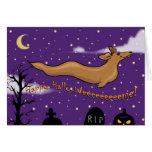 Fantasma Halloweener Felicitación