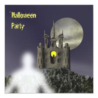 Fantasma - invitación del fiesta de Halloween