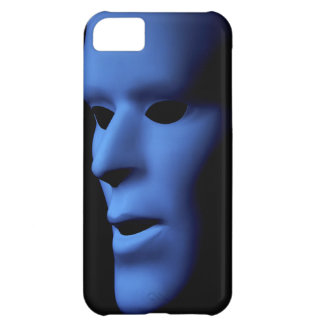 Fantasma largo que mira Mask.jpg hecho frente Funda Para iPhone 5C