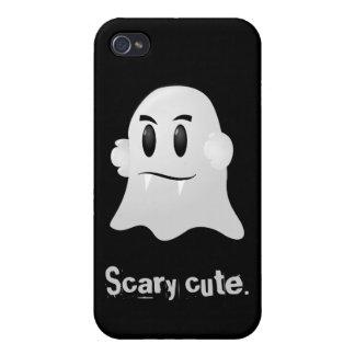 Fantasma lindo asustadizo del vampiro del kawaii d iPhone 4/4S carcasa
