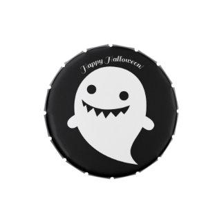 Fantasma lindo de Halloween Latas De Caramelos
