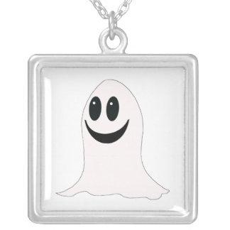 Fantasma lindo del dibujo animado de Halloween Pendiente