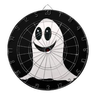 Fantasma lindo del dibujo animado de Halloween Tabla Dardos