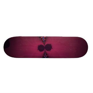 Fantasma magenta - color de rosa y placer del añil monopatines personalizados