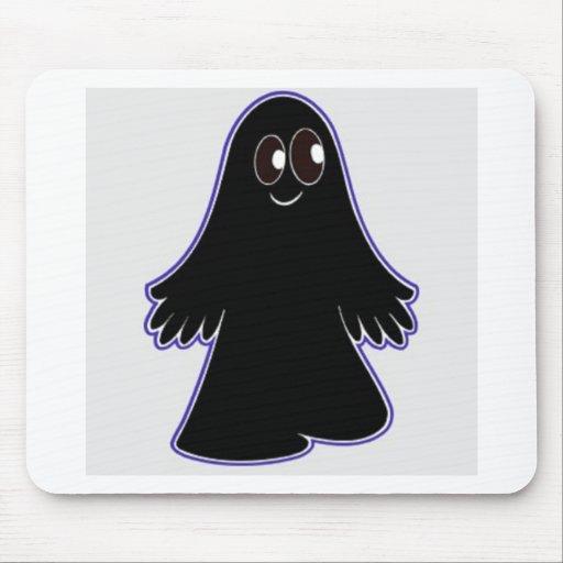 Fantasma negro alfombrillas de raton