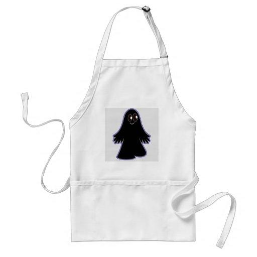 Fantasma oscuro delantal