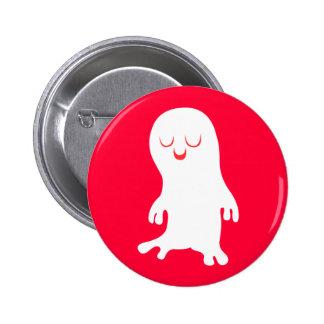 Fantasma Pin Redondo 5 Cm