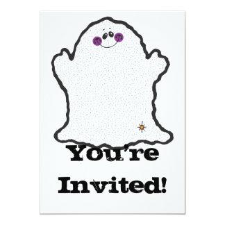 """fantasma rechoncho invitación 5"""" x 7"""""""