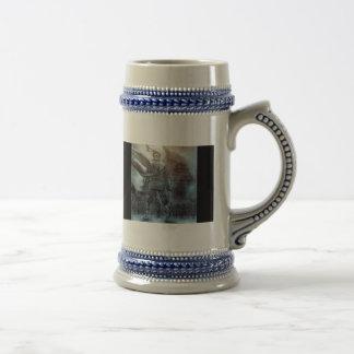 Fantasma silencioso un Stein tirado Taza De Café