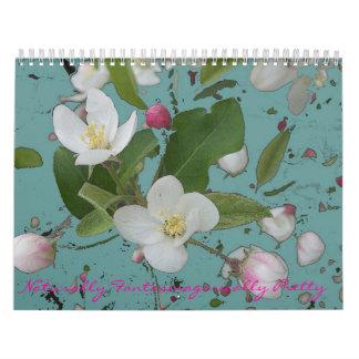 Fantasmagorically Pretty 2014 updated Calendar