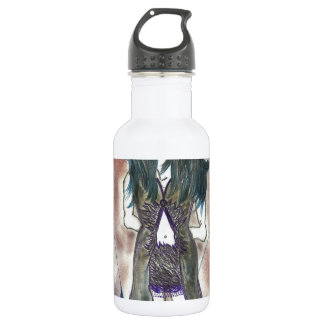 Fantasmal femenino botella de agua de acero inoxidable