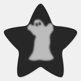 Fantasmal Pegatina En Forma De Estrella