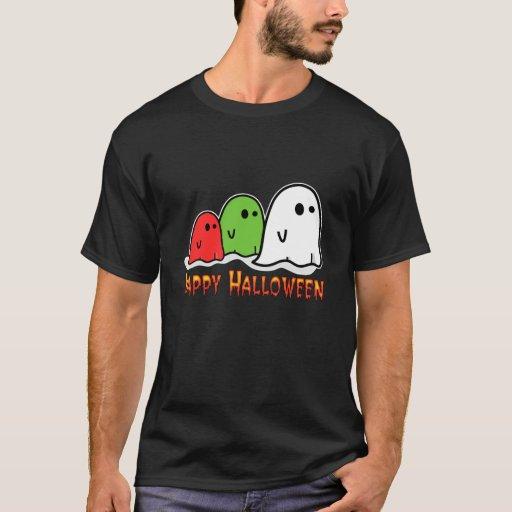 Fantasmas coloridos playera