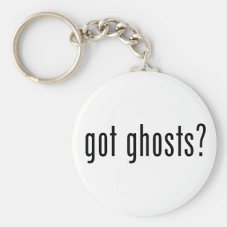 ¿Fantasmas conseguidos? Llavero Redondo Tipo Pin