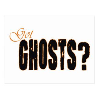 ¿Fantasmas conseguidos? Postal