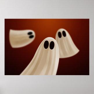 Fantasmas de Halloween Posters