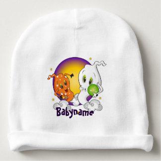 Fantasmas de Halloween personalizados Gorrito Para Bebe