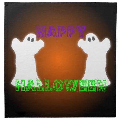 Fantasmas de Halloween Servilletas De Papel