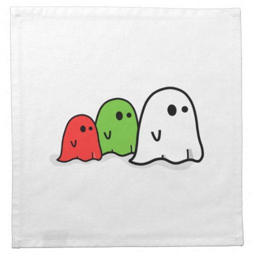 Fantasmas de Halloween Servilleta De Papel