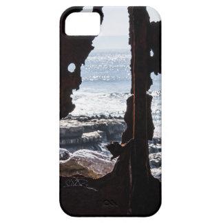 Fantasmas de la ruina de la nave iPhone 5 fundas