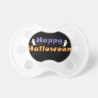 Fantasmas del feliz Halloween Chupetes Para Bebes